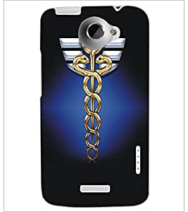 HTC ONE X SNAKES Designer Back Cover Case By PRINTSWAG