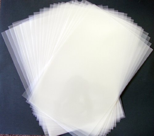 4 mil Blank Mylar 8 x 10.5 sheet - 25 pack (Mylar Sheets compare prices)