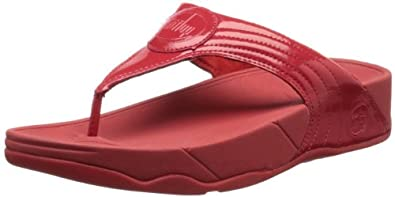 Fitflop Women's Walkstar III Sandals, Red, 3 UK