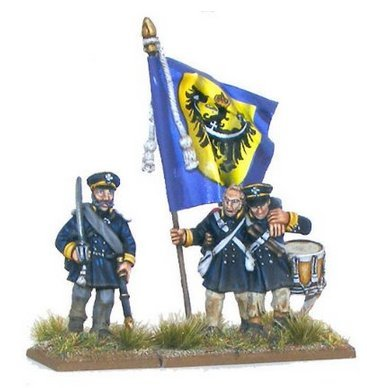 Black Powder 28mm Napoleonic Prussian Landwehr Command