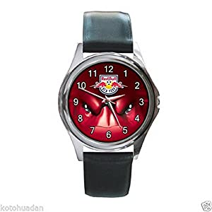New Wrist Watches XKHD051 NEW* HOT SOCCER NEW YORK RED BULL Round Metal Watch