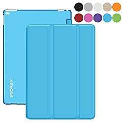 iPad Pro Case - Blue, EGOFLEX Tri-Fold Series Lightweight Stand Cover Case with Auto Wake / Sleep for Apple iPad Pro (2015 edition) 12.9 inch iOS Tablet