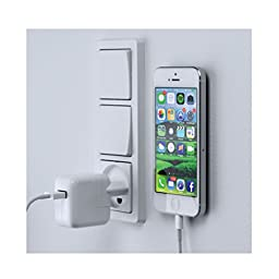 Clean and Cool Designed Phone Wall Mount System. Fits Perfectly in Both Car and on the Wall.