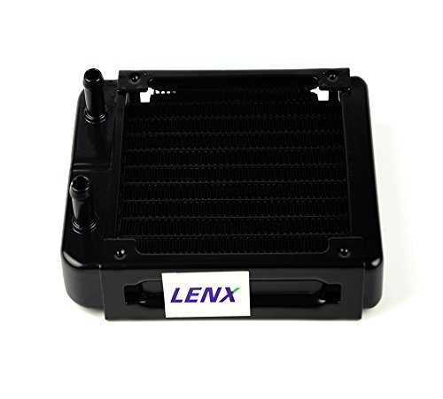 LENX 10 Pipe Aluminum Heat Exchanger Radiator for PC CPU CO2 Laser Water Cool System Computer 120mm(A) (Pc Radiator 120mm compare prices)