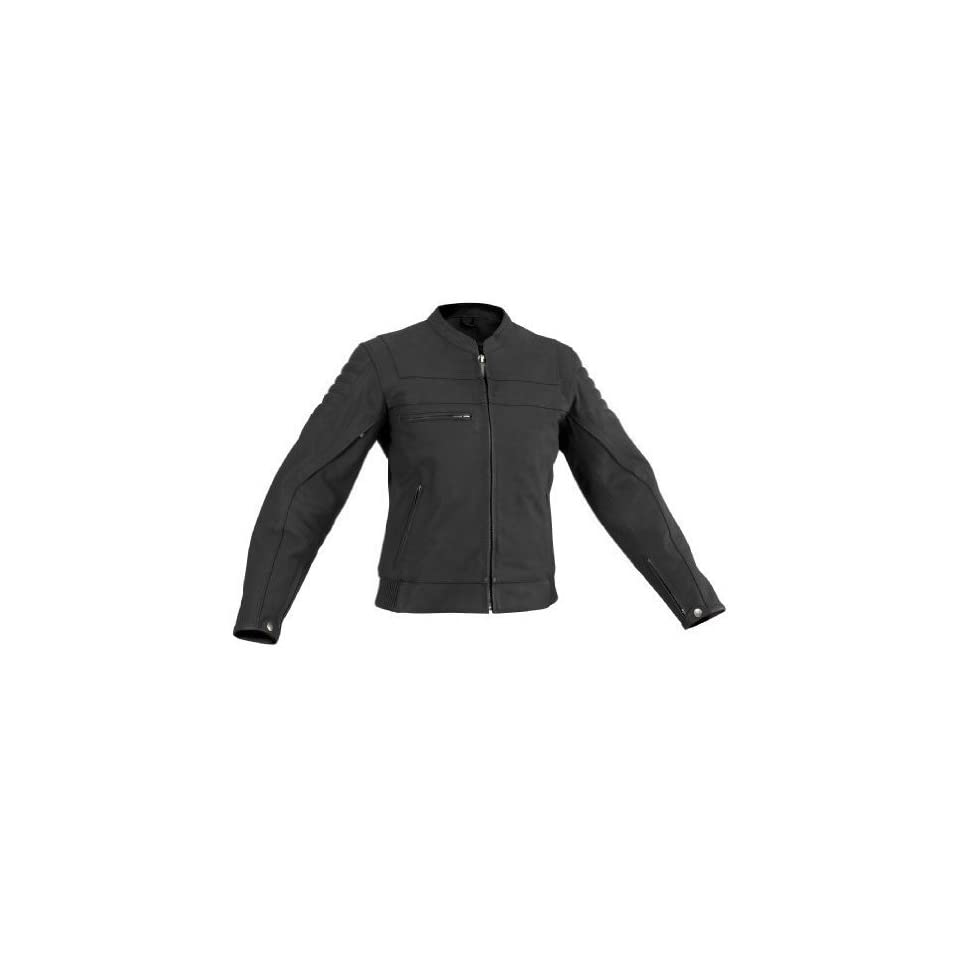 River Road Vise and Cameo Matte Black Leather Motorcycle Jacket (Mens & Womens)   Frontiercycle (Free U.S. Shipping) (L, Womens Cameo)