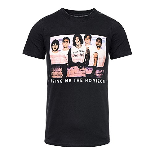 T Shirt Photo Lines Bring Me The Horizon (Nero) - Large