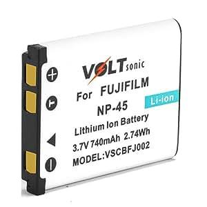 Voltsonic 740mAh Li-Ion Replacement Digital Camera Battery for Fujifilm NP-45
