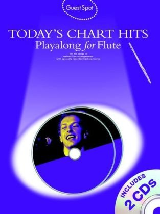 Guest Spot Today'S Chart Hits Flûte CD (Guest Spot Book & Cds)