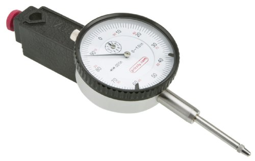 Grizzly G9623 Magnetic Base with Indicator with 1-Inch Travel (Dial Gauge Magnetic Base compare prices)