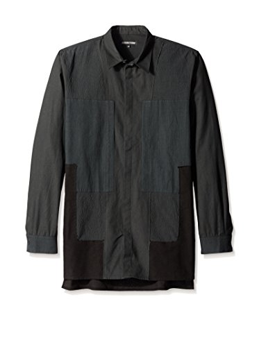 Alexandre Plokhov Men's Patchwork Shirt