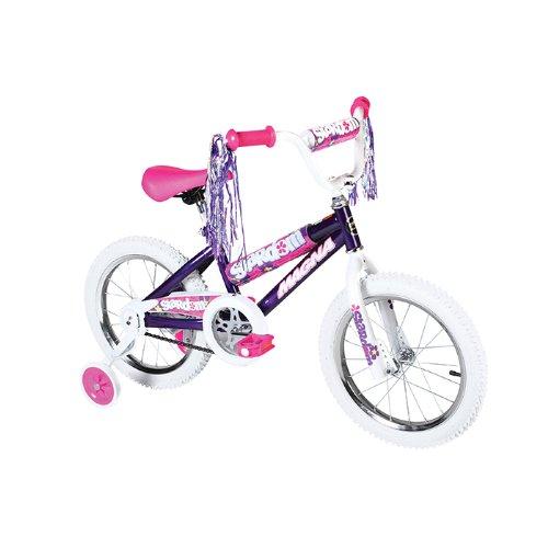 Dynacraft Girl's Magna Stardom Bike (Purple/Pink, 16-Inch)