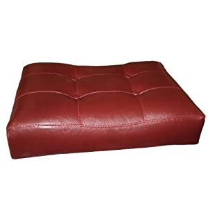 4 24 Red Cushion Saddle Back Kitchen Counter Bistro Bar Stools