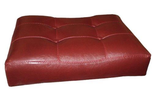 2 29 Quot Red Cushion Saddle Back Espresso Bar Stools Cheap