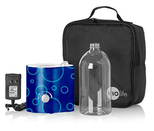 Violife VMH502KIT Personal Humidifier with Pouch and Water Bottle, Blue - 1