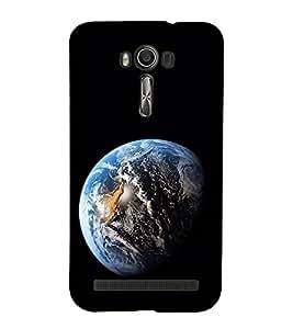Blue Earth 3D Hard Polycarbonate Designer Back Case Cover for Asus Zenfone 2 Laser ZE500KL (5 INCHES)