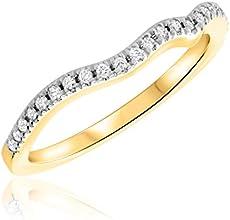 110 Carat TW Round Cut Premium Diamond Ladies Wedding Band 14K White Gold