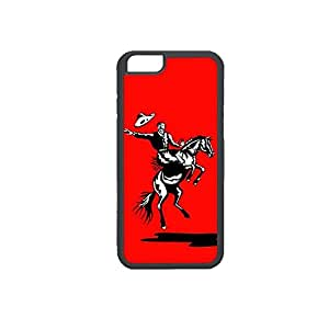 Vibhar printed case back cover for Apple iPhone 6 HorseCowboy