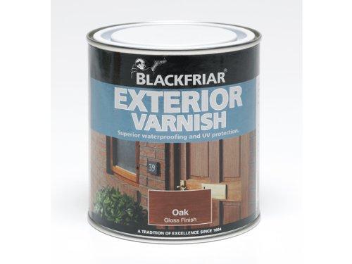 Blackfriar BKFEVG250 250 ml Exterior Varnish - Clear Gloss