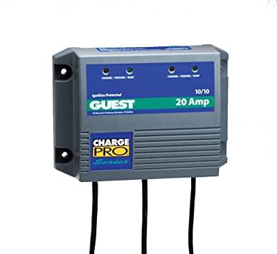Marinco Battery Charger 20 Amp On Board