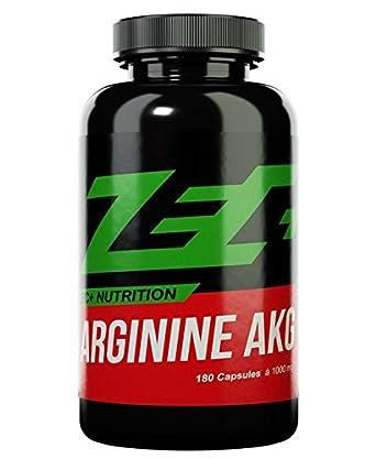 ZEC+ NUTRITION Muskelaufbau Kapseln ARGININ AKG 180g