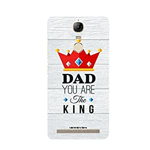 iSweven LnK5n_1247 Printed high Quality Dad_you_are_the_king Design Back case cover for Lenovo Vibe K5 Note
