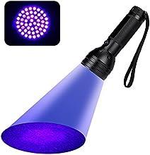 [UV Lampe]Esky® 51 LED UV Lampe Torche Détecteur pour Urine&Tache, Lumière Noire / Lampe de Poche, Pour Trouver les Taches sur les Vêtements, Moquettes ou Tapis