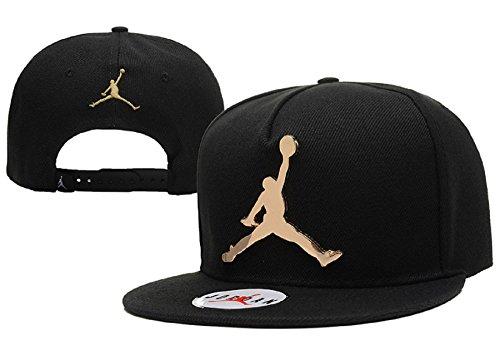 unisex-air-jordan-einstellbare-hip-hop-sport-fans-hut-hysteresen-baseballmutze-schwarz-eisen-logo-2