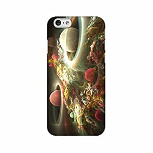 ArtzFolio Abstract Background : Apple iPhone 6 Matte Polycarbonate Original Branded Mobile Cell Phone Designer Hard Shockproof Protective Back Case Cover Protector