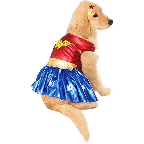 Wonder Woman Dress Dog Costume (Wonder Woman Dog Costume)