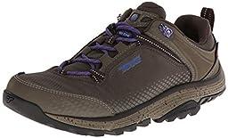 Teva Women\'s Surge Event Waterproof Hiking Shoe,Black Olive,7.5 M US