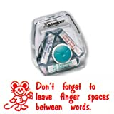 Teachers Stamp to fit the Xstamper 3 in 1 Dont Forget to leave finger spaces between words CXM19012 stamp block only