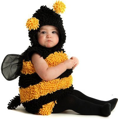Baby Deluxe Stinger Bee Costume Size 6-12 Months