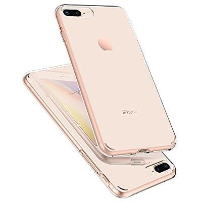 【Spigen】 スマホケース iPhone8 Plus ケース/iPhone7 Plus ケース 対応 TPU 米軍MIL規格取得 耐衝撃 リキッド・クリスタル 043CS20479 (クリスタル ・クリア)