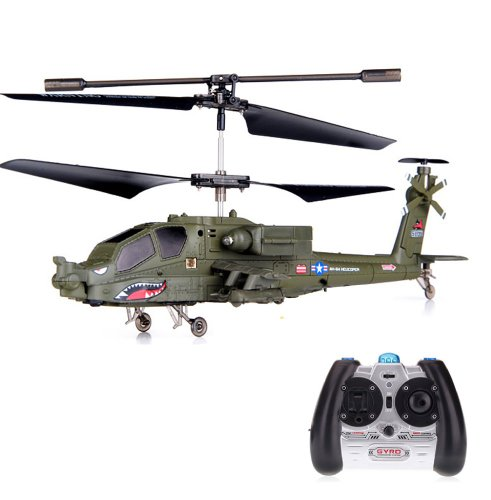 3.5 Kanal mini RC R/C ferngesteuerter &quot;APACHE AH-64&quot; Hubschrauber mit der neuesten Gyroscope-Technologie und LED! + Top-Flugeigenschaften Durch das neue Gyro-System