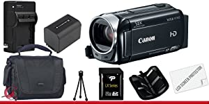 Canon 8GB VIXIA HF R40 Full HD Camcorder 32GB Package