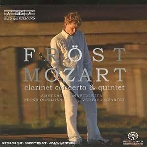 Mozart: Clarinet Concerto & Quintet [Hybrid SACD]