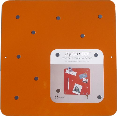 Square Dot 12 in Magnetic Bulletin Board - Orange - Buy Square Dot 12 in Magnetic Bulletin Board - Orange - Purchase Square Dot 12 in Magnetic Bulletin Board - Orange (Three by Three, Office Products, Categories, Office & School Supplies, Presentation Supplies, Presentation & Display Boards, Bulletin Boards)
