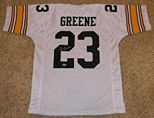 Shonn Greene Signed Jersey - #23 White Coa - Autographed College Jerseys by Sports Memorabilia