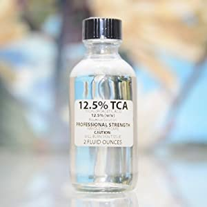 Trichloroacetic Acid Solution TCA 12.5% Chemical Skin Peel made by Erlenmeyer's Laboratory, LLC