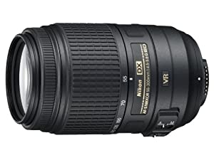 Nikon 55-300mm f/4.5-5.6G ED VR AF-S DX Nikkor Zoom Lens for Nikon Digital SLR