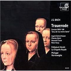 Bach: Cantate BWV.198/Cantate BWV.78 (Bach: Trauerode BWV 198; Cantata BWV 78 /Herreweghe)