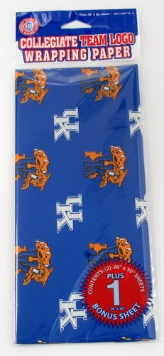 NCAA Kentucky Wildcats Wrapping Paper at Amazon.com