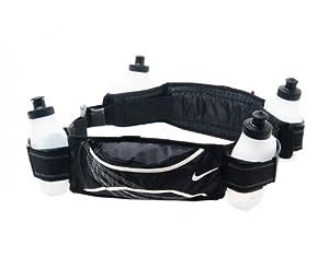 NIKE Lightweight 4 Bottle Running Hydration Belt by Nike