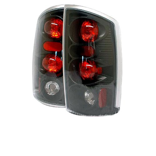 Spyder Dodge Ram 1500 02-06/ Ram 2500 02-05 /Ram 3500 02-05 Altezza Tail Lights - Black