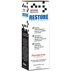 Dr. Collins Restore Toothpaste 4oz, 3 Pack