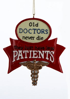 Old Doctors Ornament