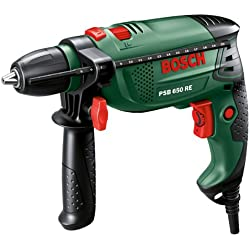 Bosch PSB650 RE 650W Corded Hammer Drill - Green