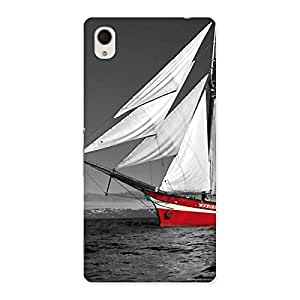Vintage Ship Multicolor Back Case Cover for Sony Xperia M4
