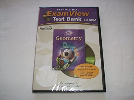 Prentice Hall Exam View Tast Bank CD-ROM/Geometry