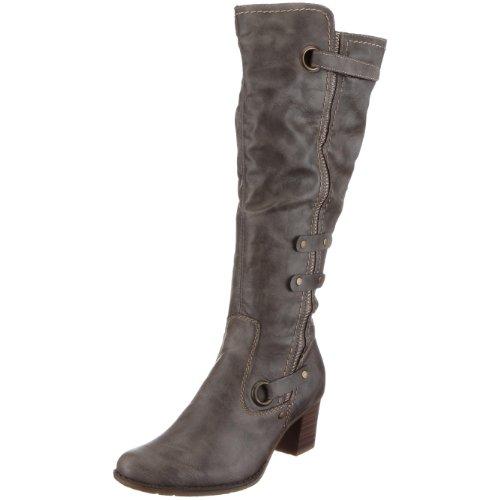 Rieker Women's Yvonne Z7672 Gray Knee High Boot